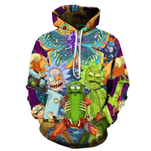 Rick and Morty Hoodie JML 2