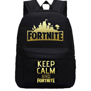 Fortnite Keep Calm and Fortnite Rugtas
