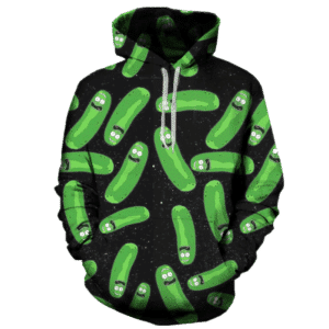 Rick and Morty Hoodie all pickle rick 1