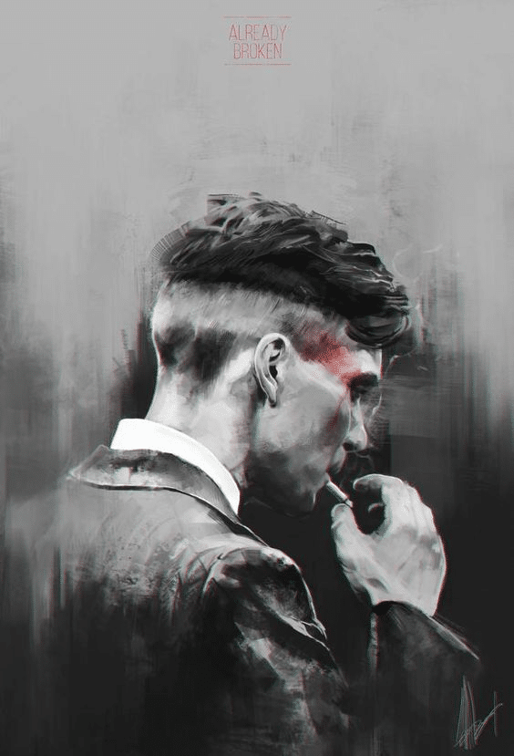 Peaky Blinders Poster - Already Broken