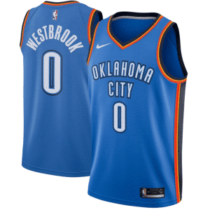 NBA Jersey Oklahoma City Thunder Russell Westbrook - Icon Edition