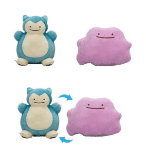 Pokemon Knuffel - Ditto Snorlax