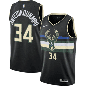 NBA Jersey Milwaukee Bucks Giannis Antetokounmpo - Statements Editon